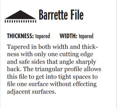barrette file